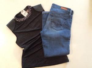 Vele maten en stijlen jeans